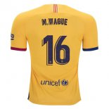 Camiseta Barcelona NO.16 Wague 1ª 2019-2020 Azul Rojo