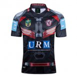 Camiseta Rugby Manly Sea Eagles Falcon 2017 2018 Negro