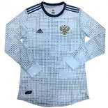 Camiseta Rusia 2ª ML 2018 Blanco