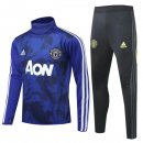 Chandal Manchester United 2019-2020 Azul Negro Blanco