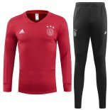 Chandal Ajax 2018-2019 Rojo