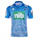 Camiseta Rugby Blues 2ª 2017 2018 Azul
