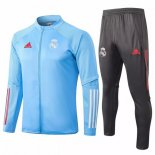 Chandal Real Madrid 2020-2021 Gris Azul Claro