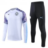 Chandal Manchester City 2019-2020 Blanco Purpura