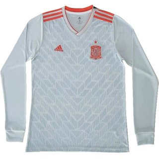 Camiseta España 2ª ML 2018 Blanco