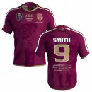 Camiseta Rugby Qld Maroons Smith 2018 Rojo
