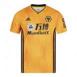 Camiseta Wolves 1ª 2019-2020 Amarillo