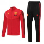 Chandal Manchester United 2020-2021 Rojo Negro