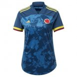 Camisetas Colombia 2ª Mujer 2020 Azul