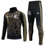 Chandal Real Madrid 2019-2020 Oro Negro
