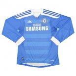 Camiseta Chelsea 1ª ML Retro 2011 2012 Azul