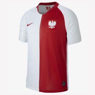 Camiseta Polonia 100th Blanco Rojo