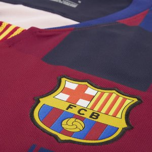 Camiseta Barcelona 20th Azul Rojo