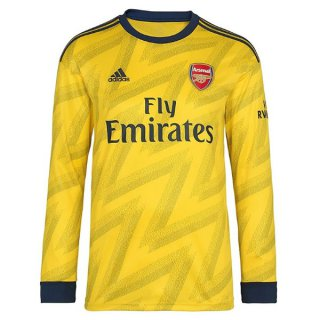 Camiseta Arsenal 2ª ML 2019-2020 Amarillo