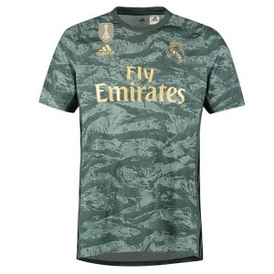 Camiseta Real Madrid 2ª Portero 2019-2020 Verde