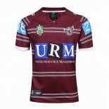 Camiseta Rugby Manly Sea Eagles 1ª 2017 2018 Rojo