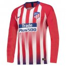 Camiseta Atletico Madrid 1ª ML 2018-2019 Rojo