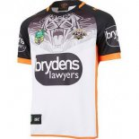 Camiseta Rugby Wests Tigers 2ª 2018 Blanco