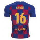 Camiseta Barcelona NO.16 Wague 2ª 2019-2020 Amarillo
